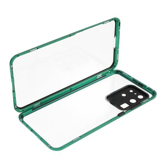 Etui Magnetic Dual Glass do Samsung Galaxy S20 Ultra - Green