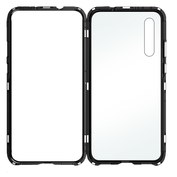 Etui Magnetic back glass do Xiaomi Mi9 SE - Black