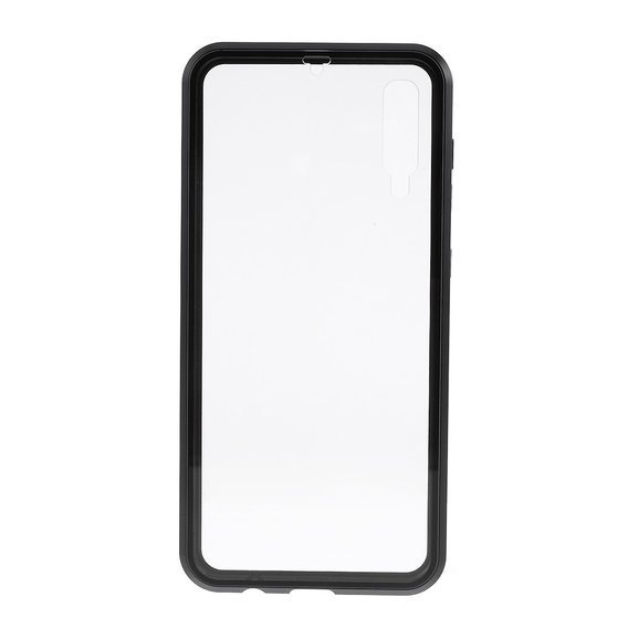Etui Magnetic dual glass do Samsung Galaxy A50 / A30s - Black