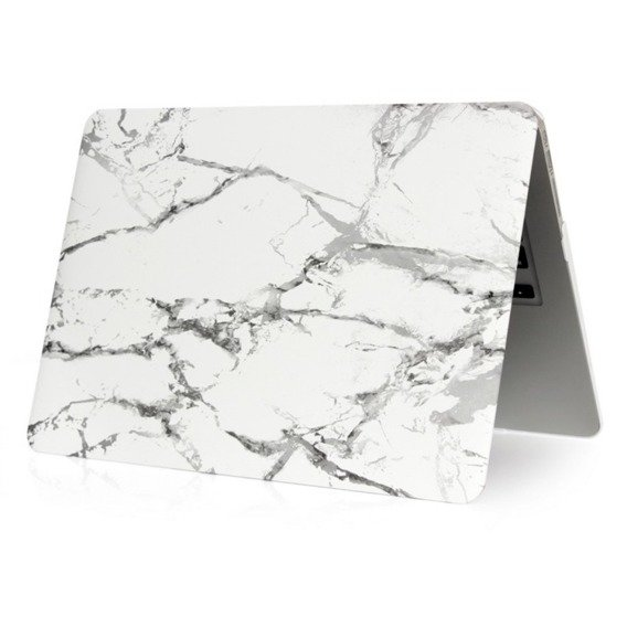 Etui Marble Hard Case do Macbook Air 13 (A1369/A1466) - White