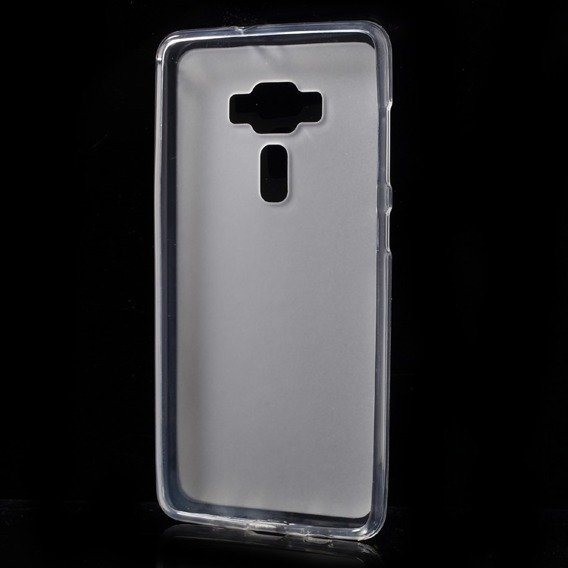 Etui Matte TPU Shell Cover Asus Zenfone 3 Deluxe ZS570KL - White