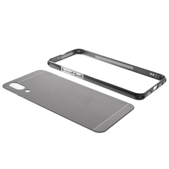 Etui Metal Slide Case Huawei P20 - Grey