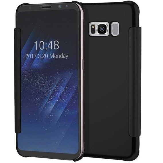 Etui Mirror Flip Cover SAMSUNG Galaxy S8 Plus - Black