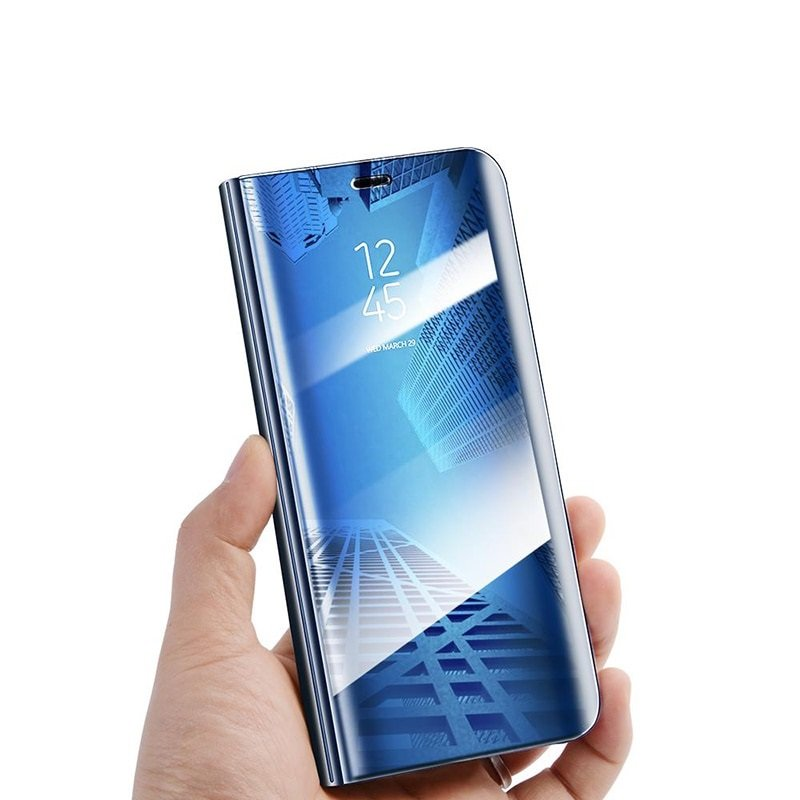 Etui Mirror View Case do Huawei Y6P - Blue