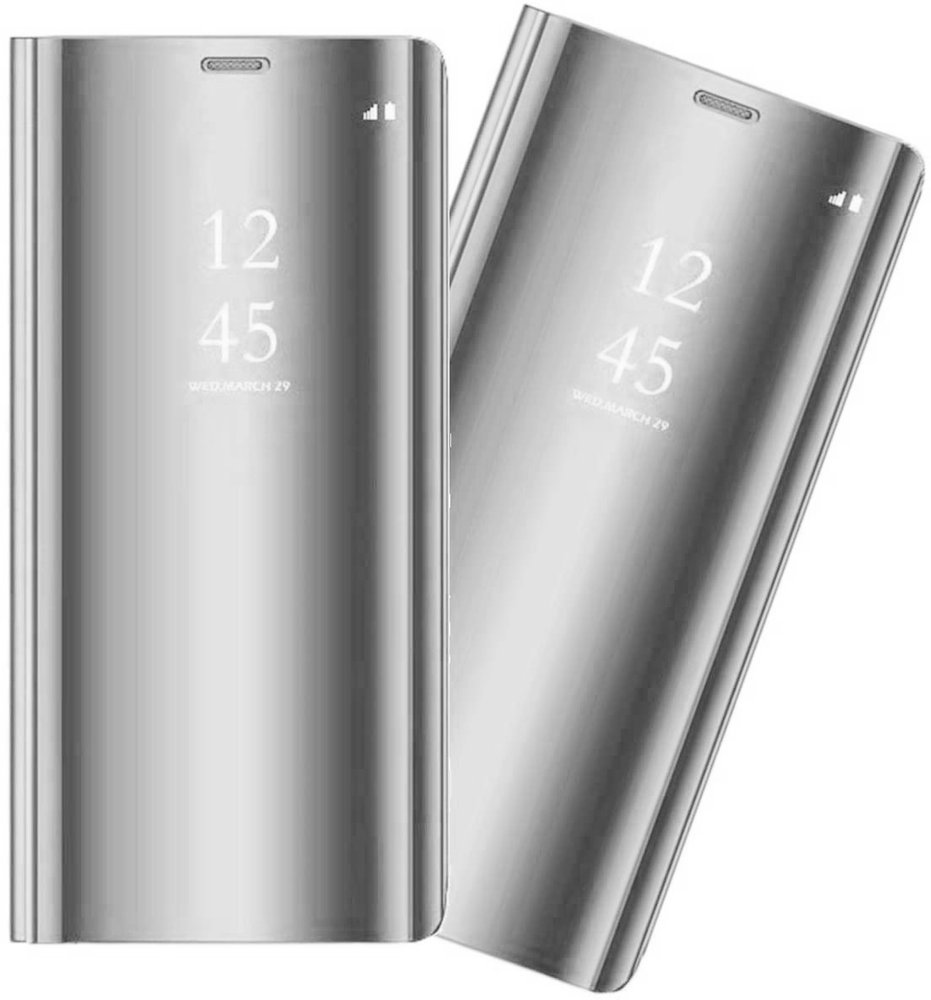 Etui Mirror View Case do LG K61 - Silver
