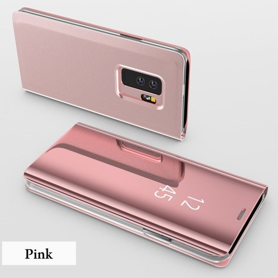 Etui Mirror View Case do Samsung Galaxy S9 - Rose Gold