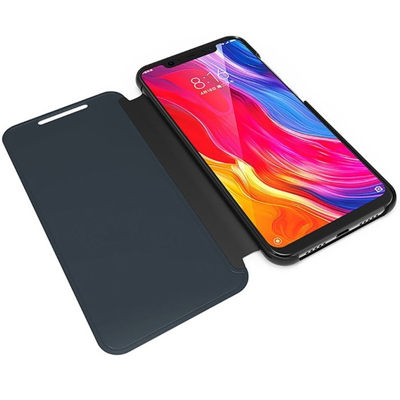Etui Mirror View Case do Xiaomi Mi 9 - Black