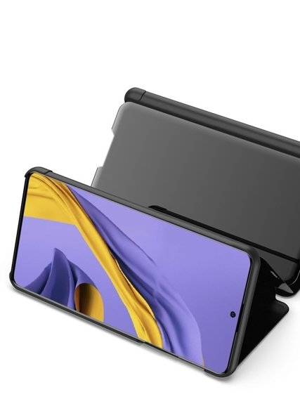 Etui Mirror View do Samsung Galaxy A51 - Black