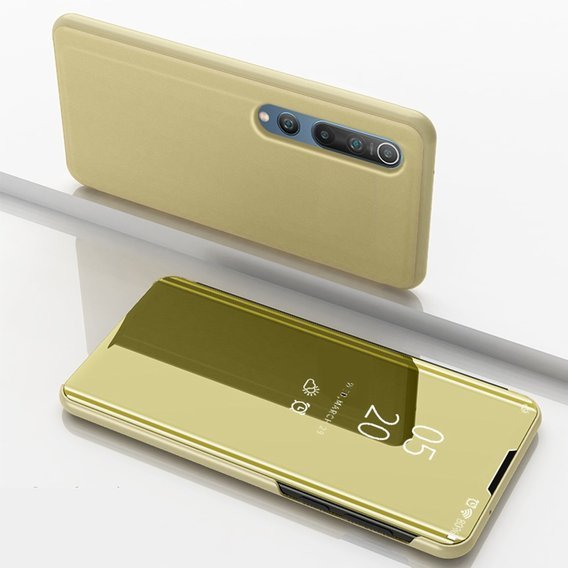 Etui Mirror View do Xiaomi Mi 10 / 10 Pro - Gold