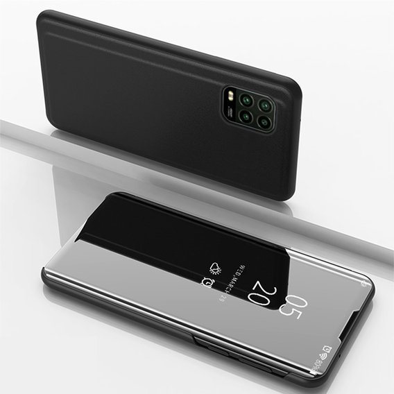 Etui Mirror View do Xiaomi Mi 10 Lite - Black