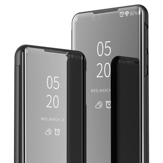 Etui Mirror View do Xiaomi Redmi Note 8 Pro - Black