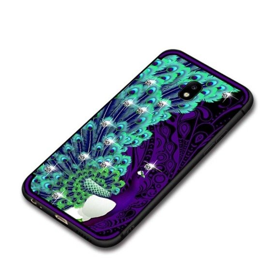 Etui NXE Peacock Diamonds Elements Samsung Galaxy J3 2017 - Purple