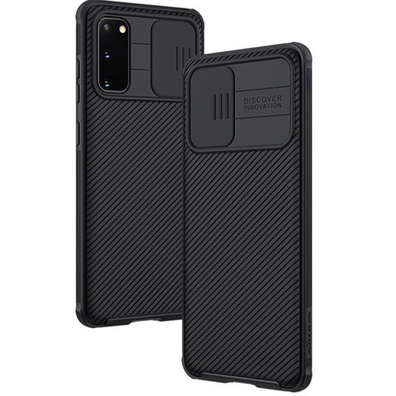 Etui Nillkin do Samsung Galaxy S20 - CamShield Case - Black