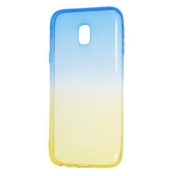Etui Ombre Case Samsung Galaxy J3 2017 - Blue / Gold