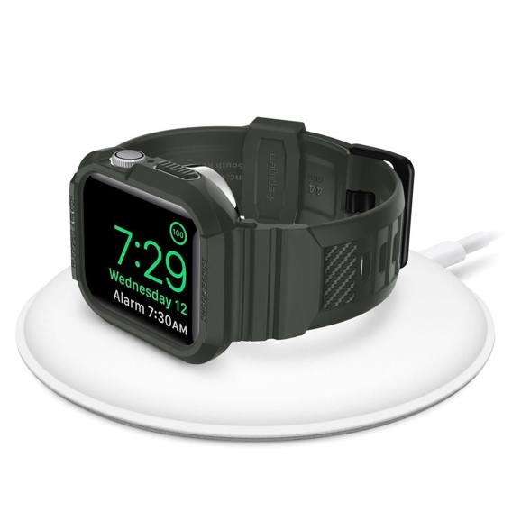 Etui Pasek SPIGEN Rugged Armor Pro Apple Watch 4 44mm - Military Green