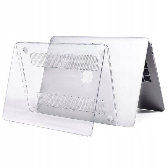 Etui Przód + Tył Hard Case Macbook Air 13.3 - Transparent