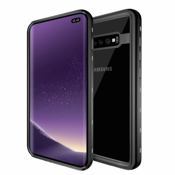 Etui REDPEPPER Wodoodporne IP68 do Samsung Galaxy S10+ Plus - Black