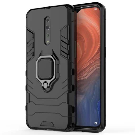 Etui Ring Stand do Oppo Reno Z - Black