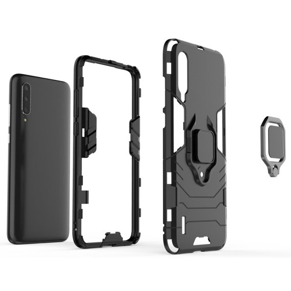 Etui Ring Stand do Xiaomi Mi 9 Lite - Black