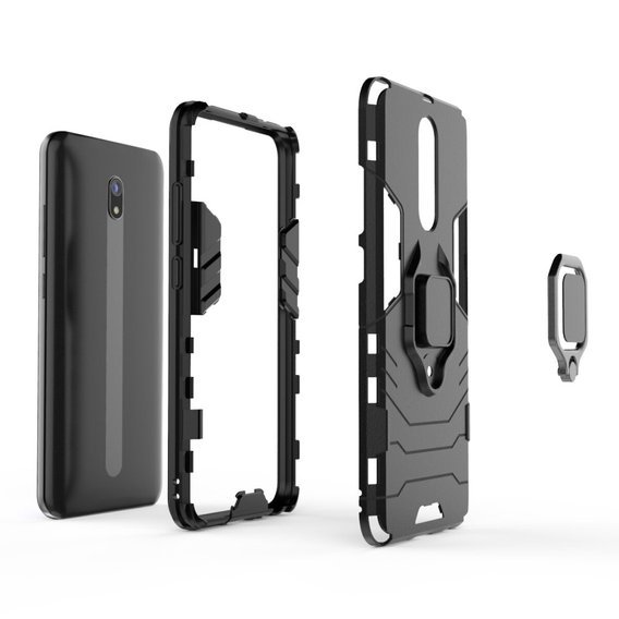 Etui Ring Stand do Xiaomi Redmi 8A - Black