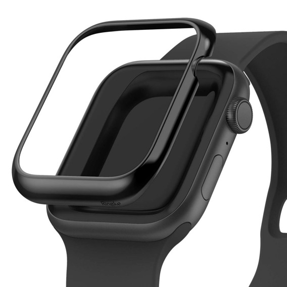 Etui Ringke Bezel Styling do Apple Watch 4 44mm - Glossy Black