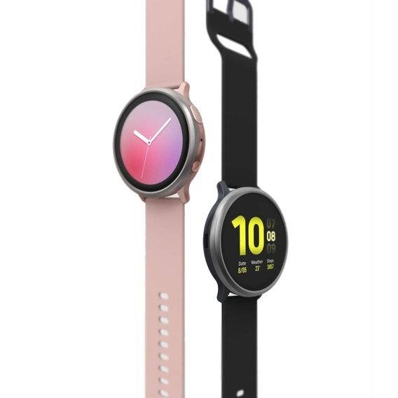 Etui Ringke Bezel Styling do Samsung Galaxy Watch Active 2 44MM - Glossy Black