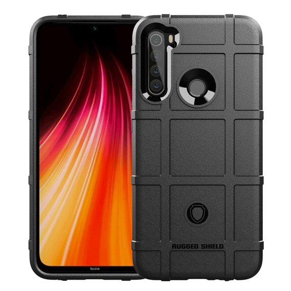 Etui Rugged Shield do Xiaomi Redmi Note 8 - Black
