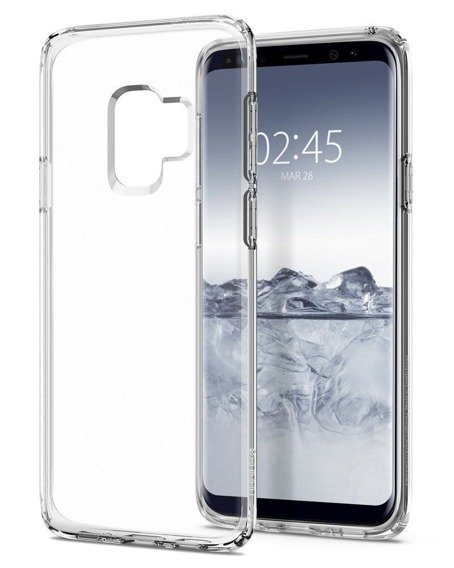 Etui SPIGEN SGP Liquid Crystal Samsung Galaxy S9 - Crystal Clear