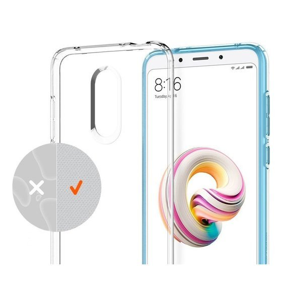 Etui SPIGEN SGP Liquid Crystal Xiaomi Redmi 5 Plus - Crystal Clear