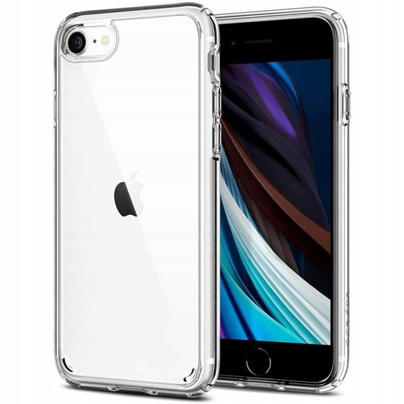 Etui SPIGEN Ultra Hybrid do iPhone SE 2020/8/7 - Crystal Clear