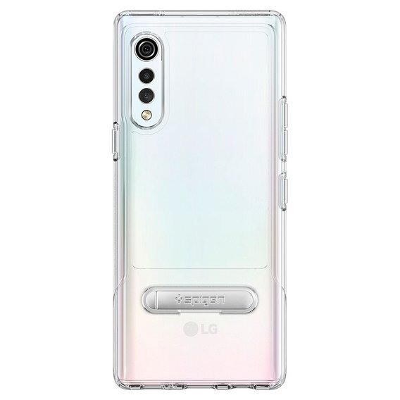 Etui SPIGEN do LG Velvet, Slim Armor Essential S, Crystal Clear