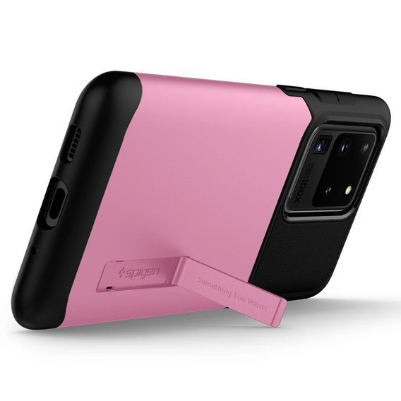 Etui SPIGEN do Samsung Galaxy S20 Ultra - Slim Armor- Rusty Pink