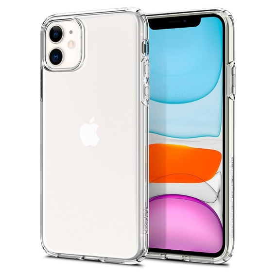 Etui SPIGEN do iPhone 11 - Liquid Crystal - Crystal Clear
