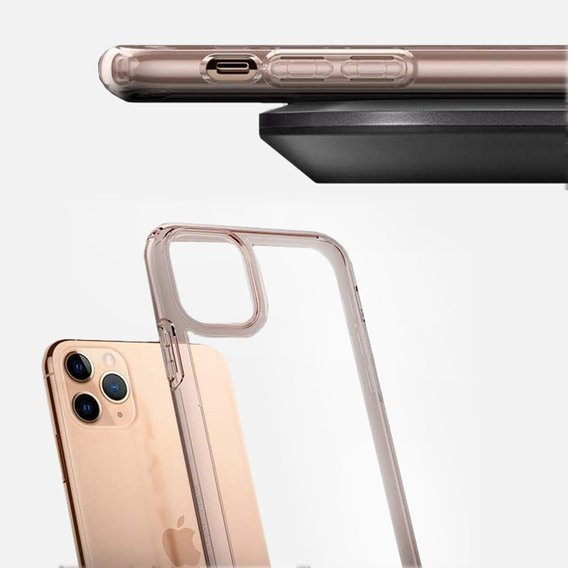 Etui SPIGEN do iPhone 11 Pro, Ultra Hybrid, Rose Crystal