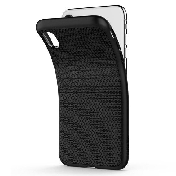Etui SPIGEN do iPhone XR, Liquid Air, Black