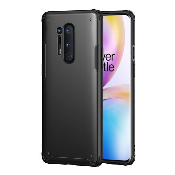 Etui Shockproof Hybrid Case do OnePlus 8 Pro - Black
