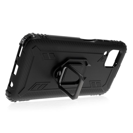 Etui Shockproof Ring do Huawei P40 Lite - Black