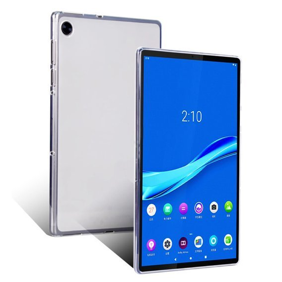 Etui Silikonowe do Lenovo Tab M10 Plus - Matte Clear