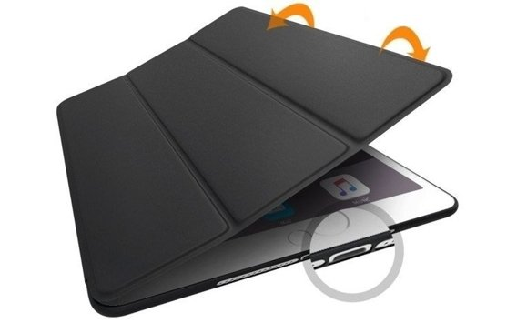 Etui Smartcase na Tablet Apple iPad Mini 1/2/3 - Black