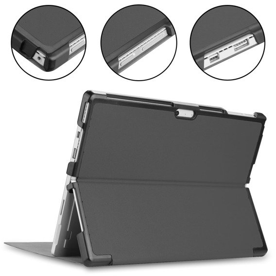 Etui Stand Case Microsoft Surface Pro 6/5/4 - Grey