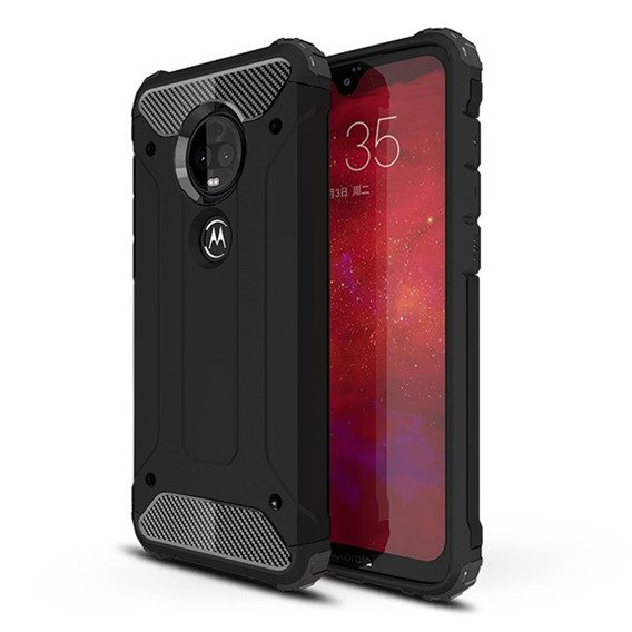 Etui TECH ARMOR Case Motorola Moto G7/G7 Plus - Black