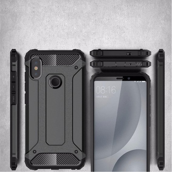 Etui TECH ARMOR Case Xiaomi Mi Max 3 - Black