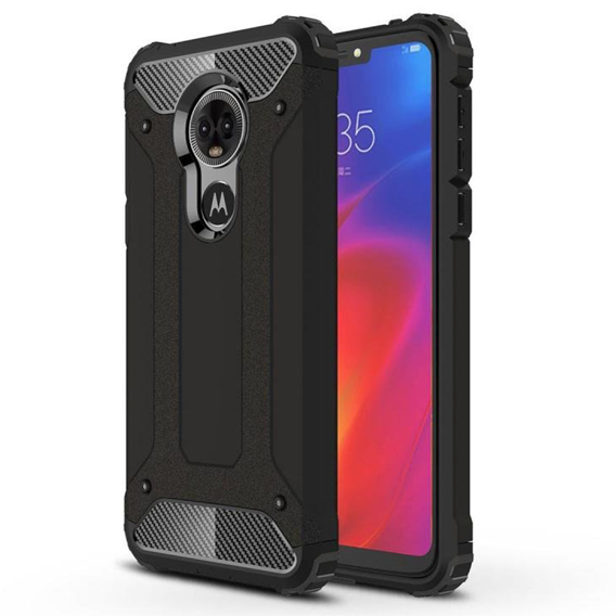 Etui TECH ARMOR Case do Motorola Moto E6 - Black
