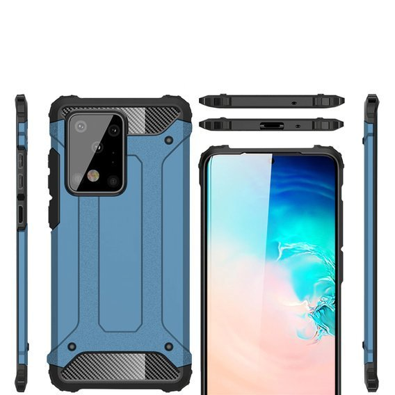 Etui TECH ARMOR Case do Samsung Galaxy S20 Ultra - Baby Blue