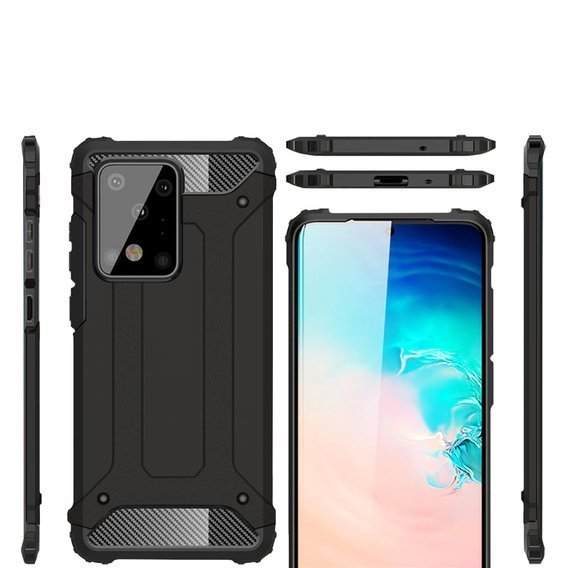 Etui TECH ARMOR Case do Samsung Galaxy S20 Ultra - Black