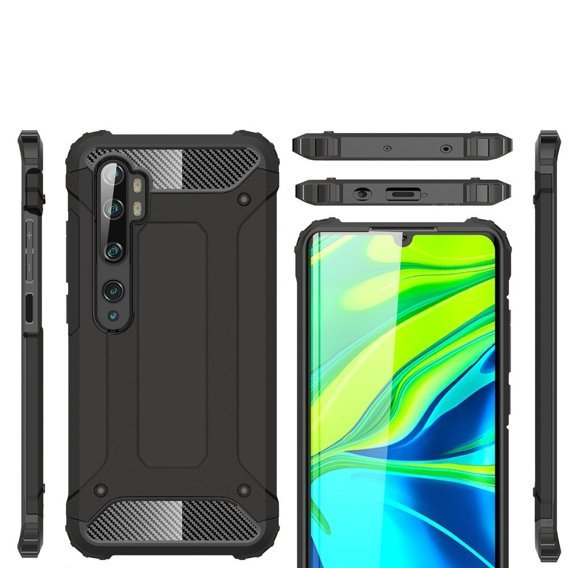 Etui TECH ARMOR Xiaomi Mi Note 10 Lite - Black