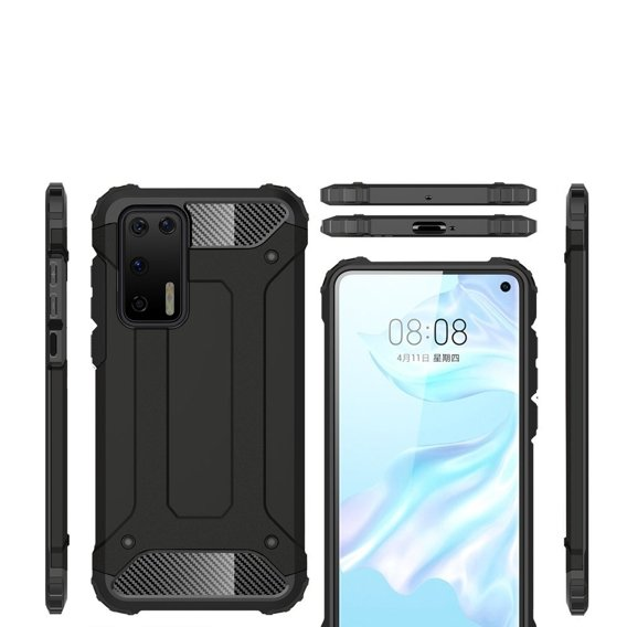 Etui TECH ARMOR do Huawei P40 - Black