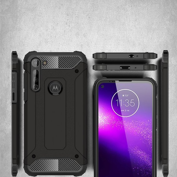 Etui TECH ARMOR do Motorola Moto G8 - Black