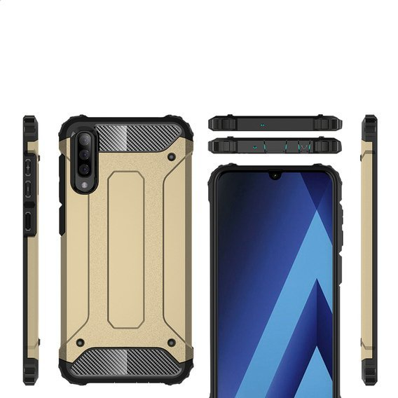 Etui TECH ARMOR do Samsung Galaxy A70 - Gold