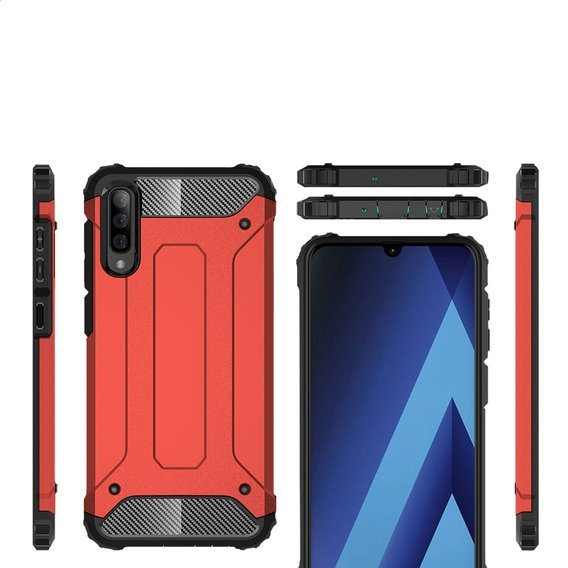 Etui TECH ARMOR do Samsung Galaxy A70 - Red